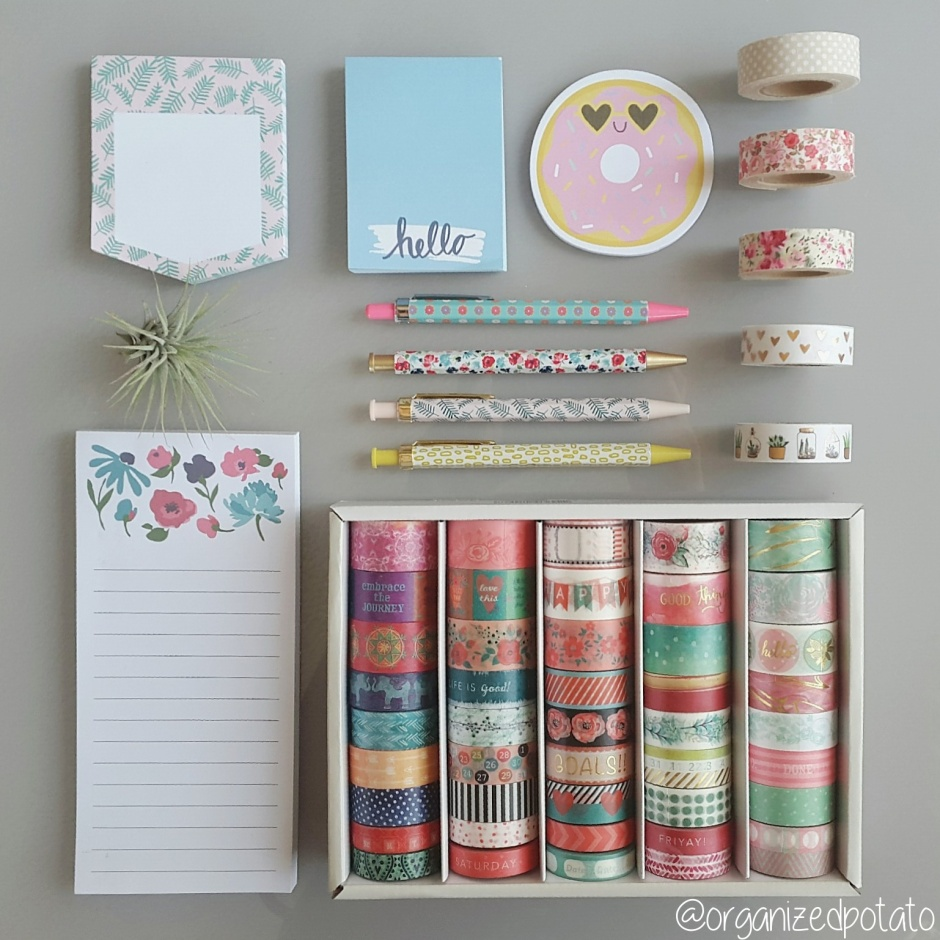 Cute Planner Supplies Washi Tape Stationary