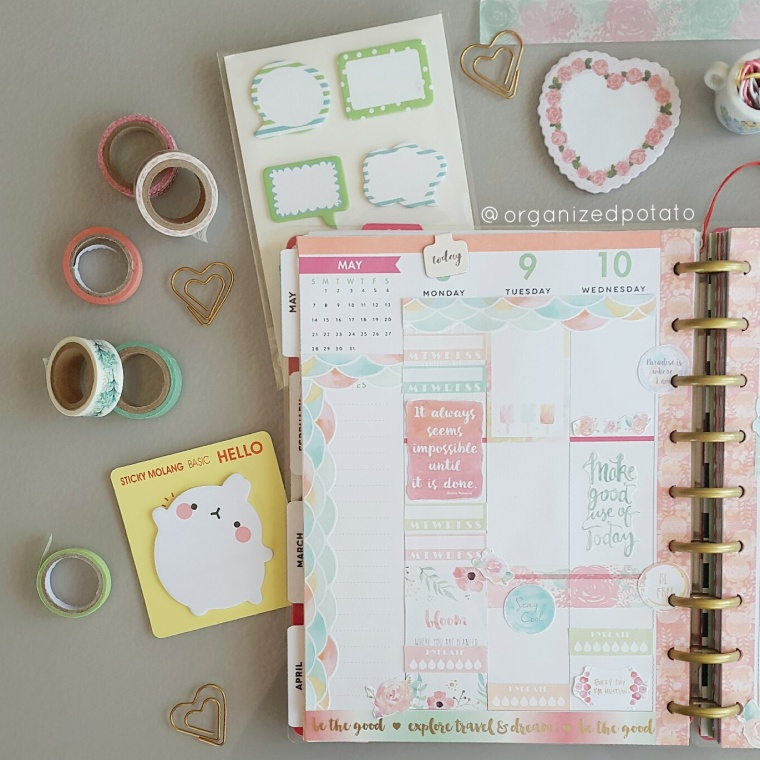Free Watercolor Planner Printable