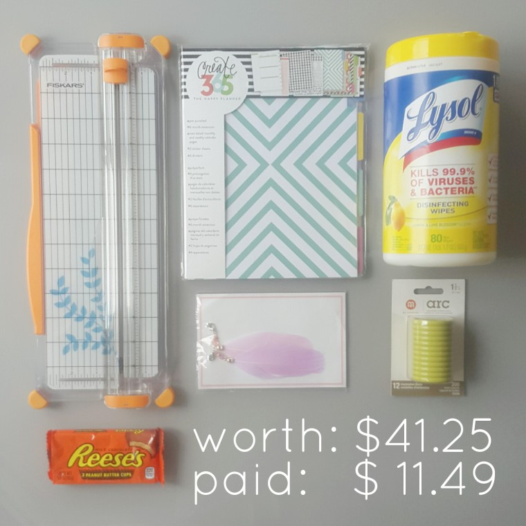 Extreme Couponing: planner supplies edition. (okay, so it's not extremely extreme couponing. More like moderate couponing. But still pretty good couponing!)