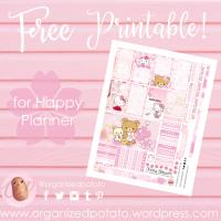 Free Planner Printable: Sakura