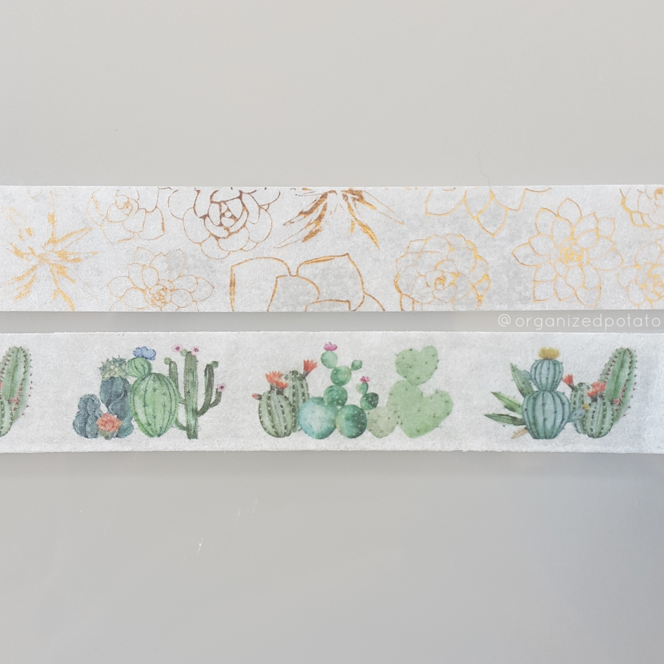Happy #washiwednesday! #cacti #succulents #plants #goldfoiling #cactus #succulent #plant #washi #washitape #washiaddict #washihoarder #plantmama #planties #planner #plannergirl #plannersupplies #plannerideas #plannerinspo #happyplanner #erincondren #kikkik #filofax #bujo #bulletjournal #bujoideas #bujoinspiration #bulletjournalideas #websterspages #travelersnotebook #DIY #crafts #decotape #decorative