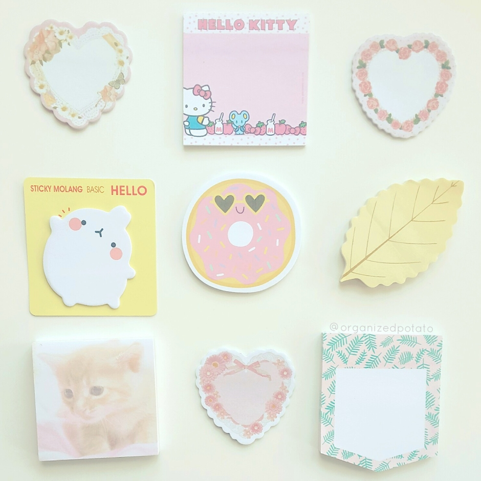 "#7daydestash challenge, day 1: ""don't want to run out"". #stickynotes #postit #postitnotes #planner #plannergirl #plannerideas #plannersupplies #target #targetdollarspot #hellokitty #molang #cat #cats #hearts #kawaii #girly #pastel #cute #happyplanner #erincondren #filofax #kikkik #bujo #bulletjournal"
