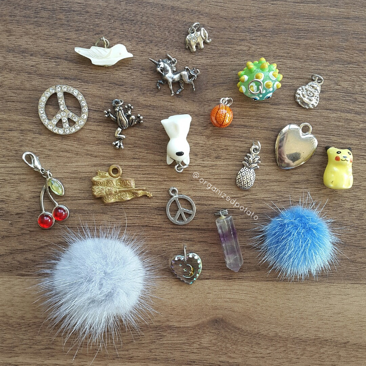 #7daydestash Challenge - Day 3 [Saving it for Later] #destash #declutter #organize #organizedpotato #charms #plannercharms #planneraccessories