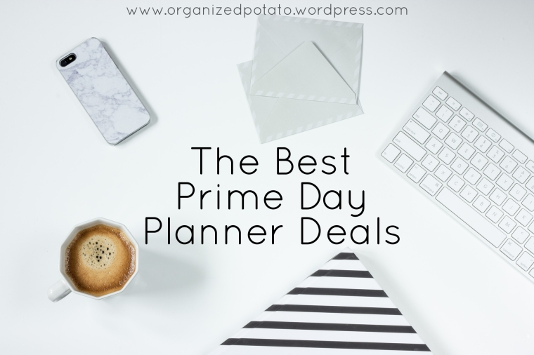 A roundup of the best Prime Day Deals for planner girls on a budget! #amazon #amazonprime #primeday #primedaydeals #planner #plannergirl #erincondren #happyplanner #bujo #bulletjournal #filofax #kikkik #websterspages #carpediem #carpediemplanner #mambi #meandmybigideas #plannerideas #plannerinspo #plannerinspiration #plannersupplies