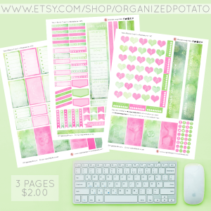 Yoga - Pink & Green. 3-page Planner Printable for Classic Happy Planner. #planner #happyplanner #classichappyplanner #happyplannerclassic #meandmybigideas #mambi #mambiplanner #yoga #zen #elephant #mandala #boho #yogaposes #plannerprintables #plannerprintable #DIYstickers #DIY #plannerideas #plannerinspo #eclp #erincondren #kikkik #filofax #websterspages #travelersnotebook #DIYplannerideas