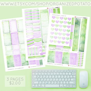 Yoga - Purple & Green. 3-page Planner Printable for Classic Happy Planner. #planner #happyplanner #classichappyplanner #happyplannerclassic #meandmybigideas #mambi #mambiplanner #yoga #zen #elephant #mandala #boho #yogaposes #plannerprintables #plannerprintable #DIYstickers #DIY #plannerideas #plannerinspo #eclp #erincondren #kikkik #filofax #websterspages #travelersnotebook #DIYplannerideas