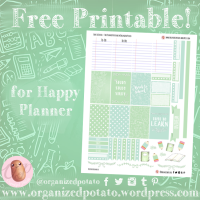 Free Planner Printable: Back to School