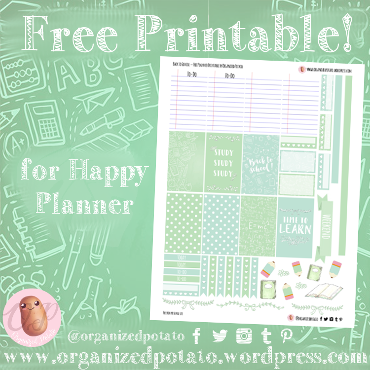 Back to School - Free Printable for Classic Happy Planner #backtoschool #school #chalkboard #books #pencils #schoolsupplies #backtocollege #school #college #printable #printables #freeprintable #freeprintables #plannerprintable #plannerprintables #freeplannerprintable #freeplannerprintables #happyplanner #happyplannerclassic #hpc #mint #mintgreen #planner #planners #plannerstickers #plannerfreebies #freeplannerstuff #freehappyplanner #erincondren #filofax #bujo #bulletjournal #kikkik #websterspages #DIY #craft #scrapbooking #papercraft #stickers #DIYstickers #doodleflowers #doodlebanners #study #timetolearn #learning