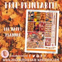 Free Planner Printable: Hello Autumn