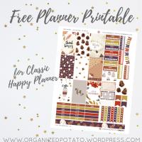 Free Planner Printable: November