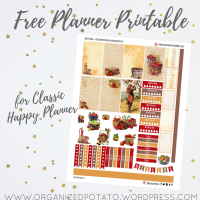Free Planner Printable: Apple Picking