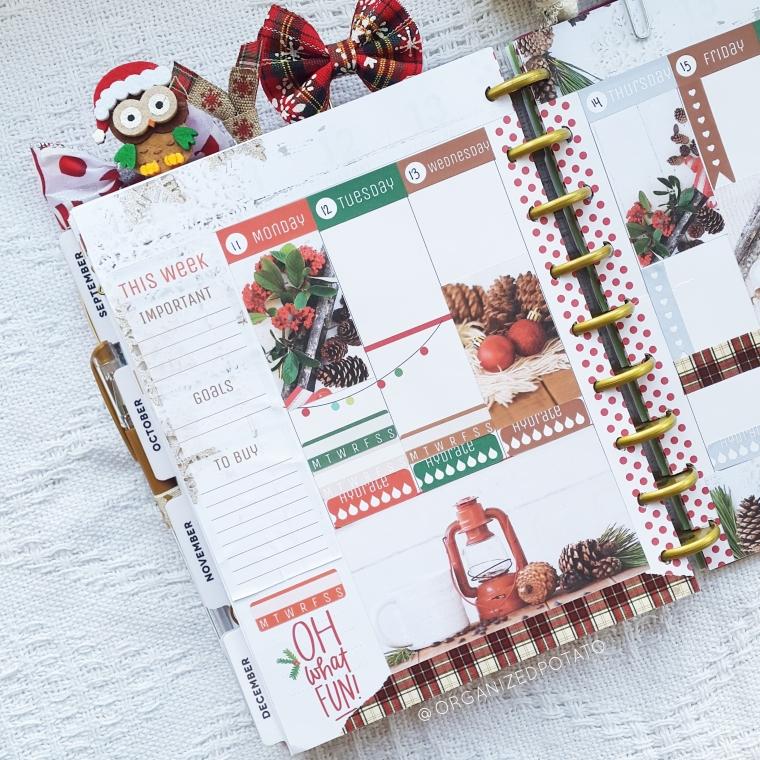 """Cozy Cabin"" - Printable for Classic Happy Planner #planner #happyplanner #printable #plannerprintable #plannerprintables #DIYstickers #bujo #bulletjournal #bujoideas #DIYbujo #DIYplannerideas #DIYstickers #erincondren #filofax #websterspages #travelersnotebook #kikkik #organizedpotato #christmas #merrychristmas #cozy #buffaloplaid #pinecones #lantern #snowflakes #owl #santa"