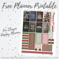 Free Planner Printable: Merry & Bright