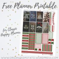 Free Planner Printable: Merry & Bright
