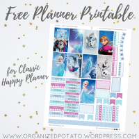 Free Planner Printable: Frozen