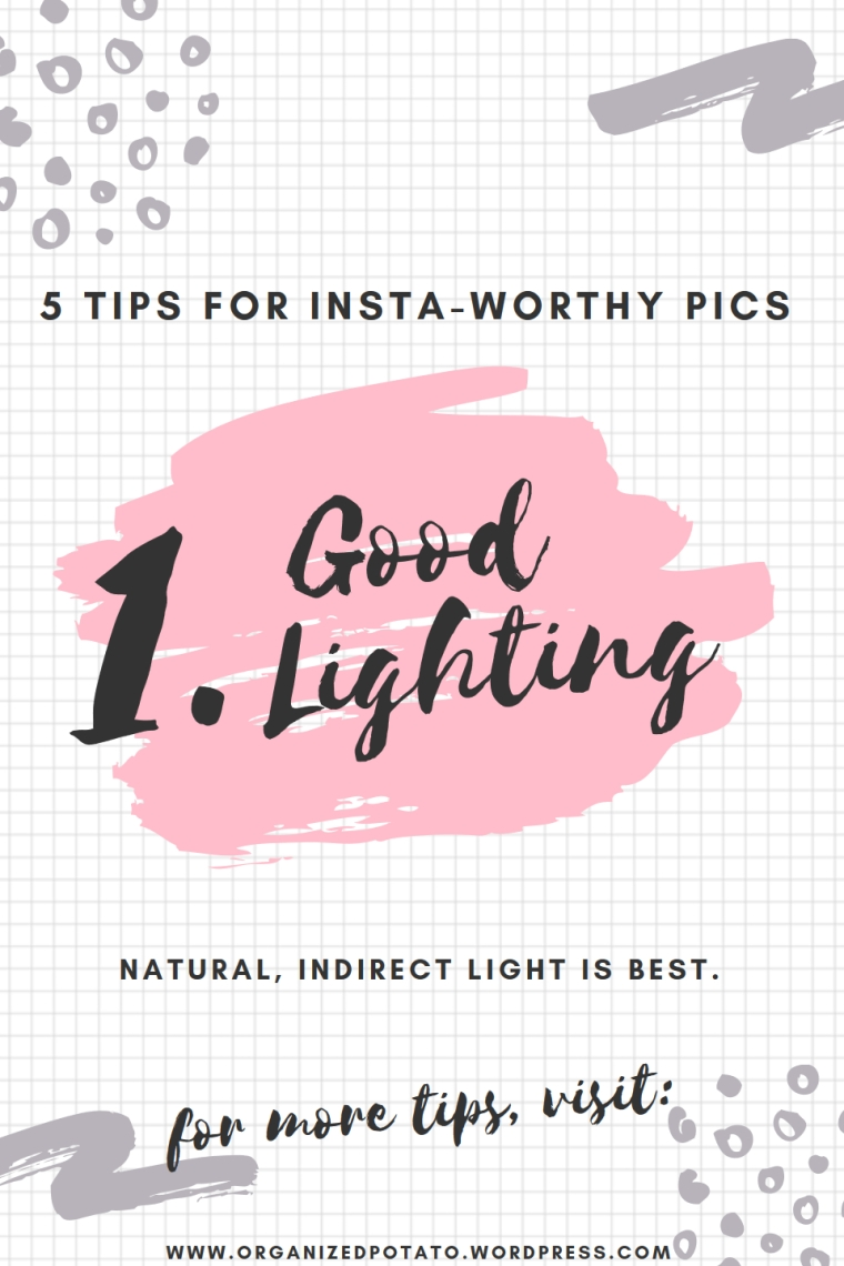 5 Tips for Insta-Worthy Pics | Super cheap and super easy photo hacks to bring your photography game to the next level! #photography #photohacks #photographyhacks #bloggertips #bloggergirl #mommyblogger #girlboss #blogtips #bloggingtips #DIY #howto #instagram #instaworthy #inspo #flatlay