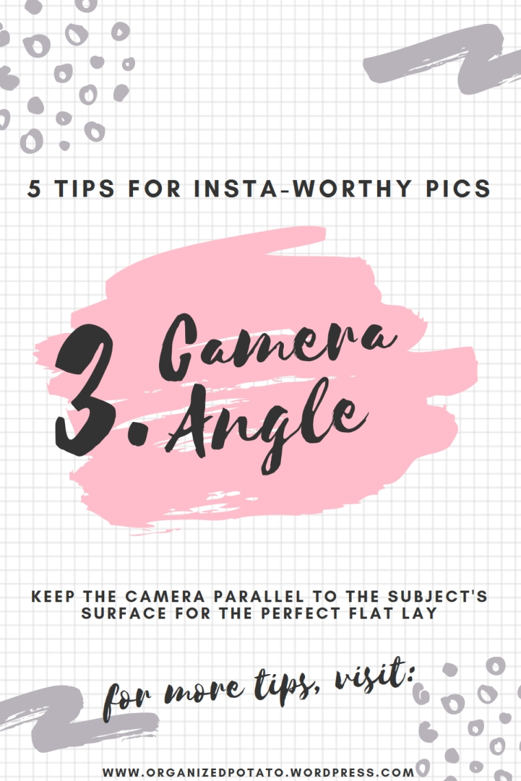 5 Tips for Insta-Worthy Pics   Super cheap and super easy photo hacks to bring your photography game to the next level! #photography #photohacks #photographyhacks #bloggertips #bloggergirl #mommyblogger #girlboss #blogtips #bloggingtips #DIY #howto #instagram #instaworthy #inspo #flatlay
