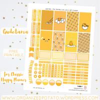 Free Planner Printable: Gudetama